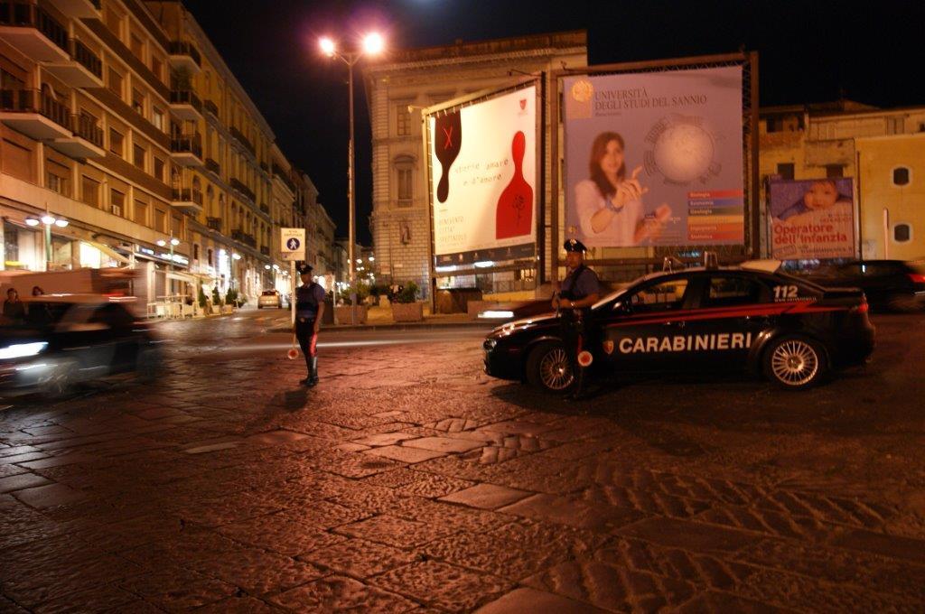 Controlli dei Carabinieri durante la notte: fermati due giovani e proposto foglio di via per due pregiudicati