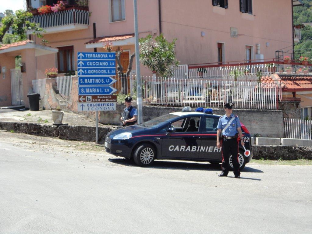 Foglio di via obbligatorio per un pregiudicato fermato a San Martino Sannita