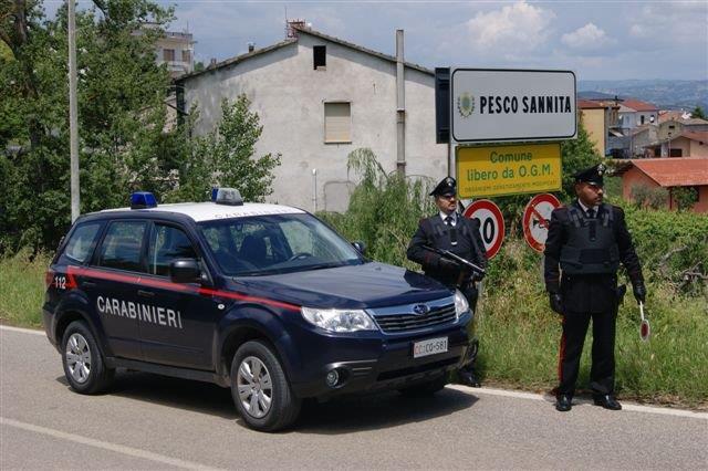 I Carabinieri sorprendono due pregiudicati con l'intento di commettere furti