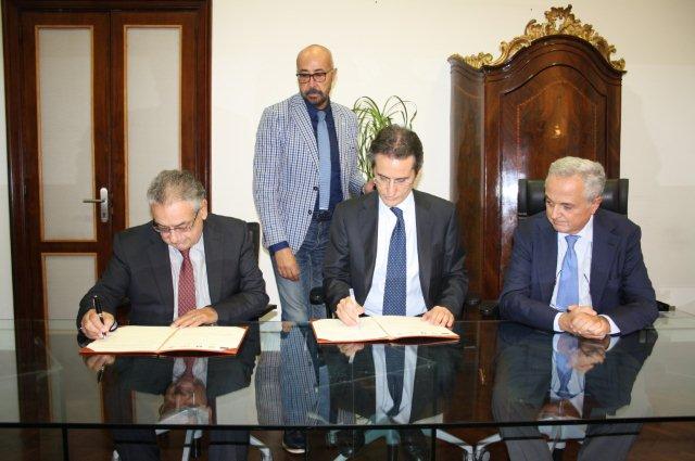 Firmato, alla Regione, protocollo d'intesa per la messa in sicurezza ed il completamento degli assi viari Fondo Valle Isclero e Ciardelli