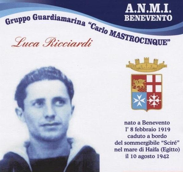 Santa Messa in ricordo dell'eroe sannita Luca Ricciardi