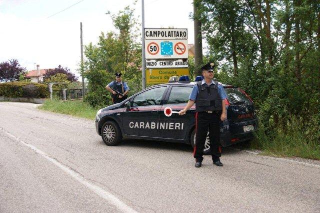 Campolattaro, fermato dai Carabinieri uomo sorpreso alla guida di auto rubata