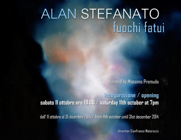 Alla 'GiaMaArt studio' approda la suggestiva pittura del triestino Alan Stefanato