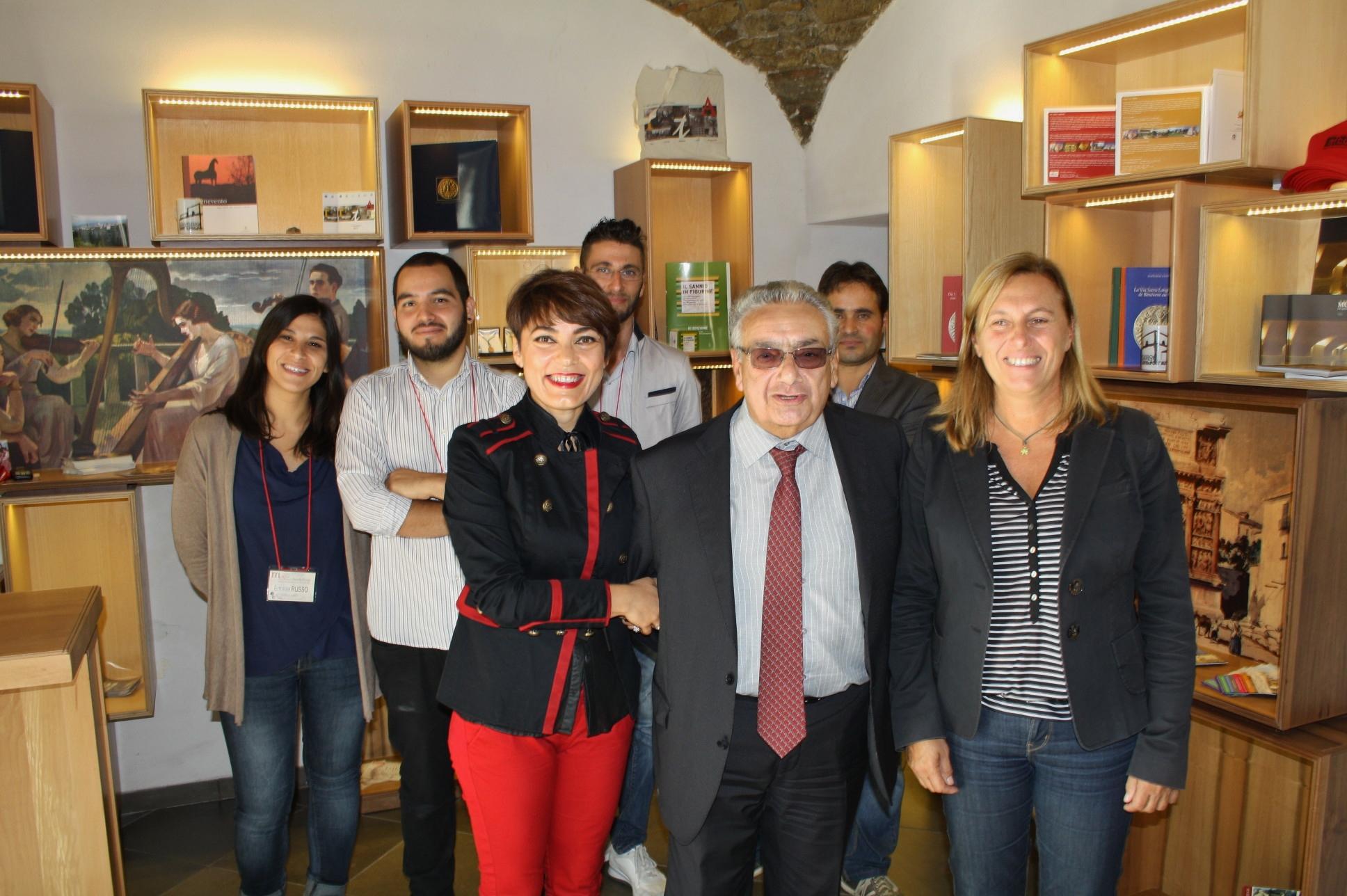 Apertura della nuova sezione del Museo del Sannio alla presenza del Commissario straordinario Cimitile