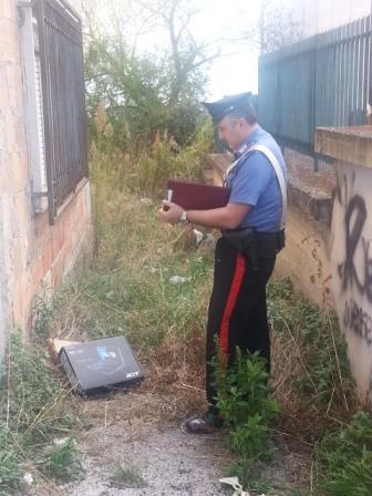 Ceppaloni, rinvenuti dai Carabinieri i pc trafugati all'Istituto Settembrini