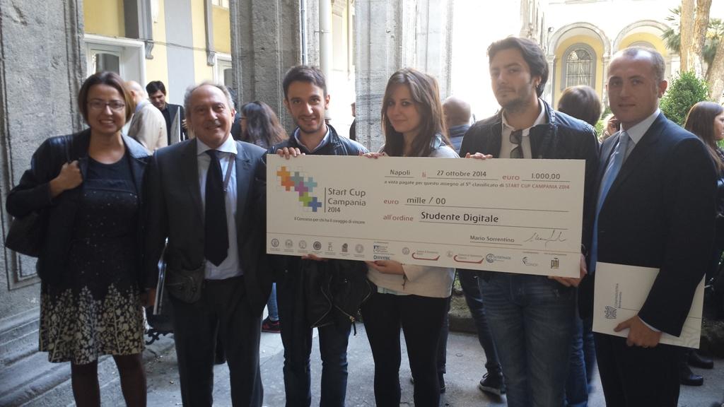 Start Cup Campania, il quinto posto alla squadra Unisannio