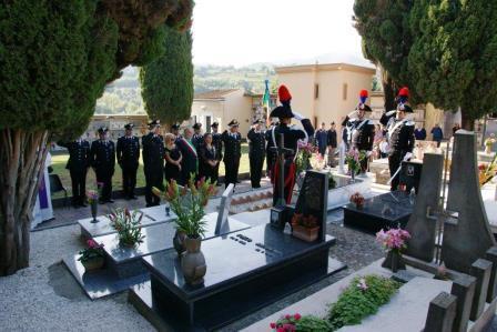 I Carabinieri hanno festeggiato il Bicentenario dell'Arma con la commemorazione di Vittorio Vaccarella