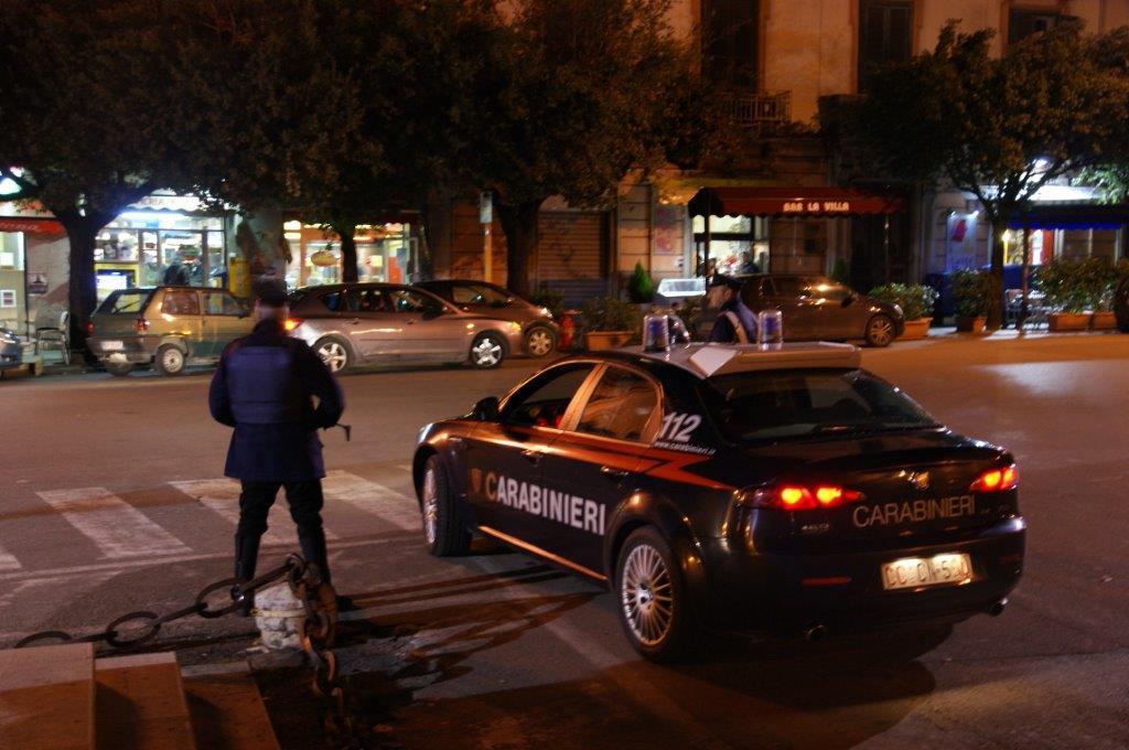 Controlli dei Carabinieri per prevenire le stragi del sabato sera