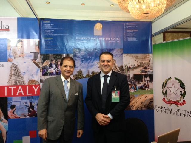 Unisannio a Manila, nelle Filippine, per l'European Higher Education 2014