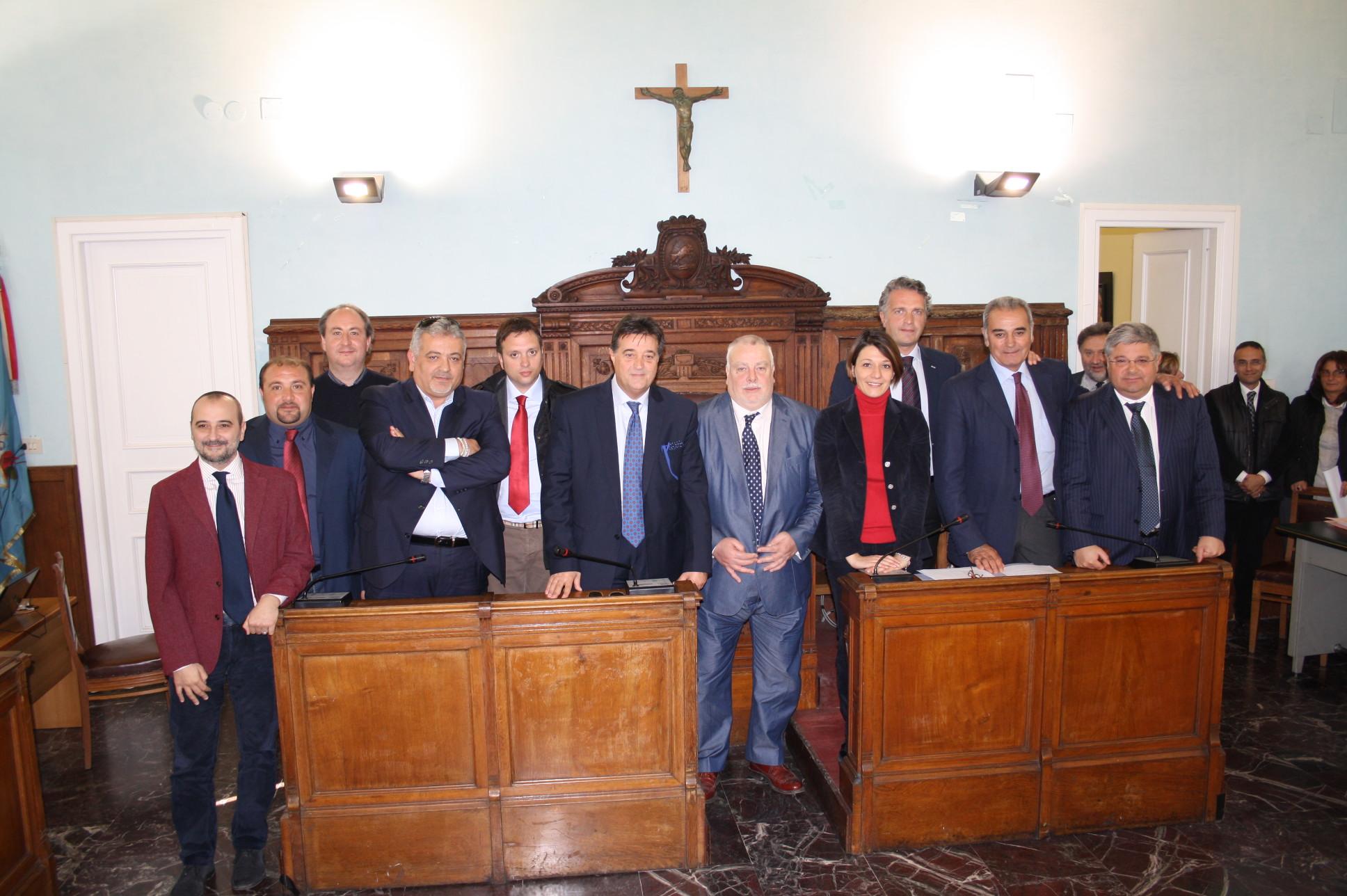 Ieri si è insediato alla Rocca il Consiglio Provinciale guidato da Claudio Ricci
