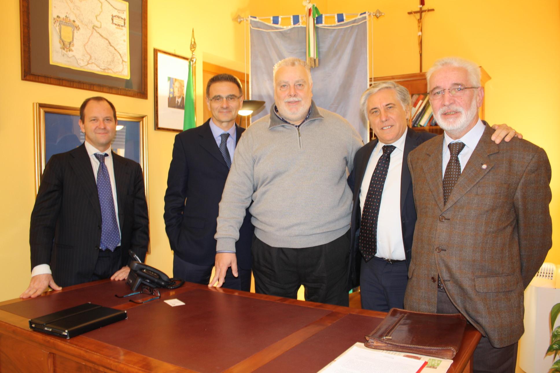 Incontro fra Ricci e il presidente di Unitalsi per individuare le sinergie per incrementare il flusso turistico