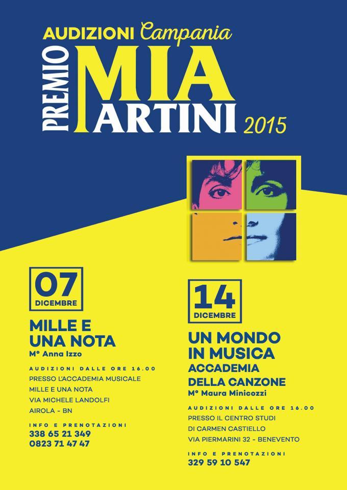'Mille e una Nota', domenica audizioni per il 'Premio Mia Martini' ed esibizione di Giulia Falzarano a 'Piano City 2014'