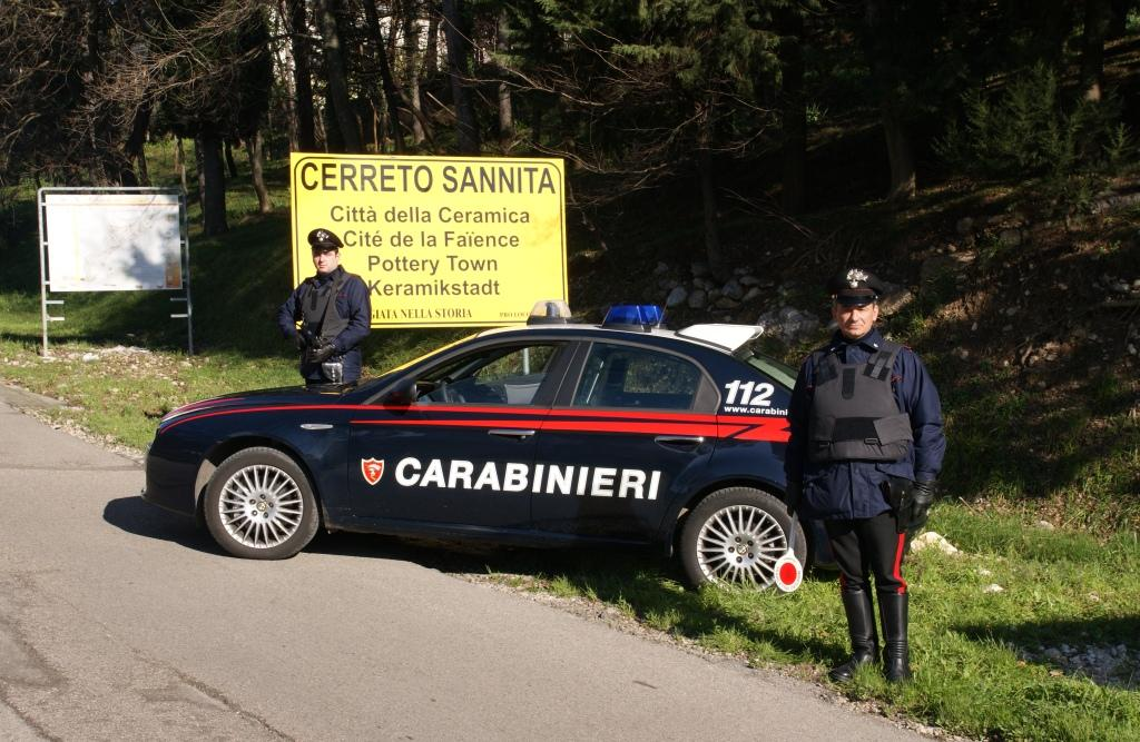 I Carabinieri di Cerreto Sannita denunciano 3 persone e propongono il foglio di via per altri 2
