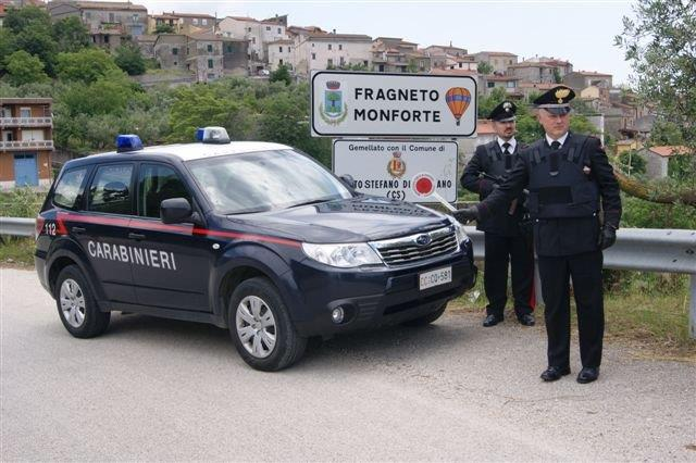 I Carabinieri trovano due ragazzi afgani all'interno del vano di carico di un autoarticolato