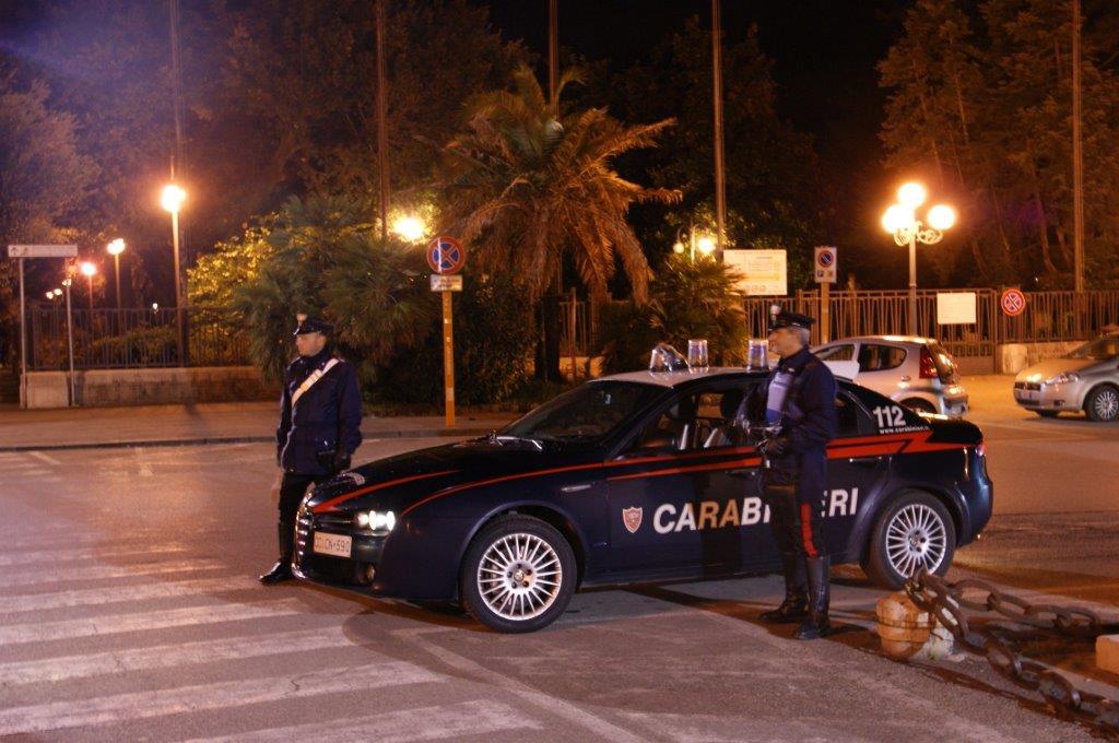 Sventato dai Carabinieri un furto in un distributore di benzina