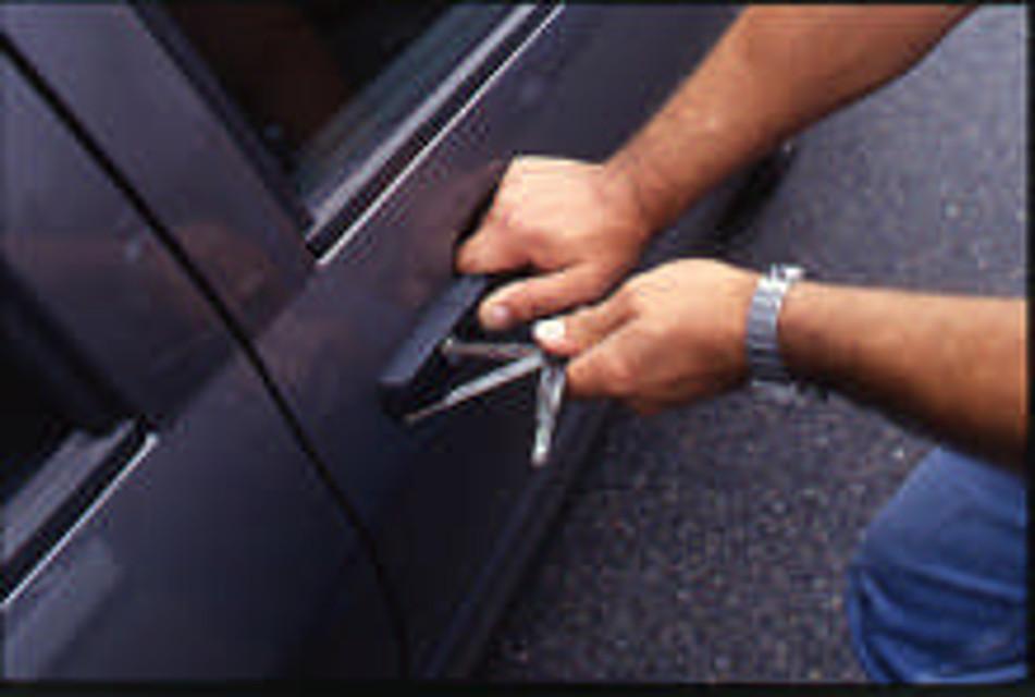 Forza lo sportello dell'auto per rubare la borsa, denunciato un 25enne