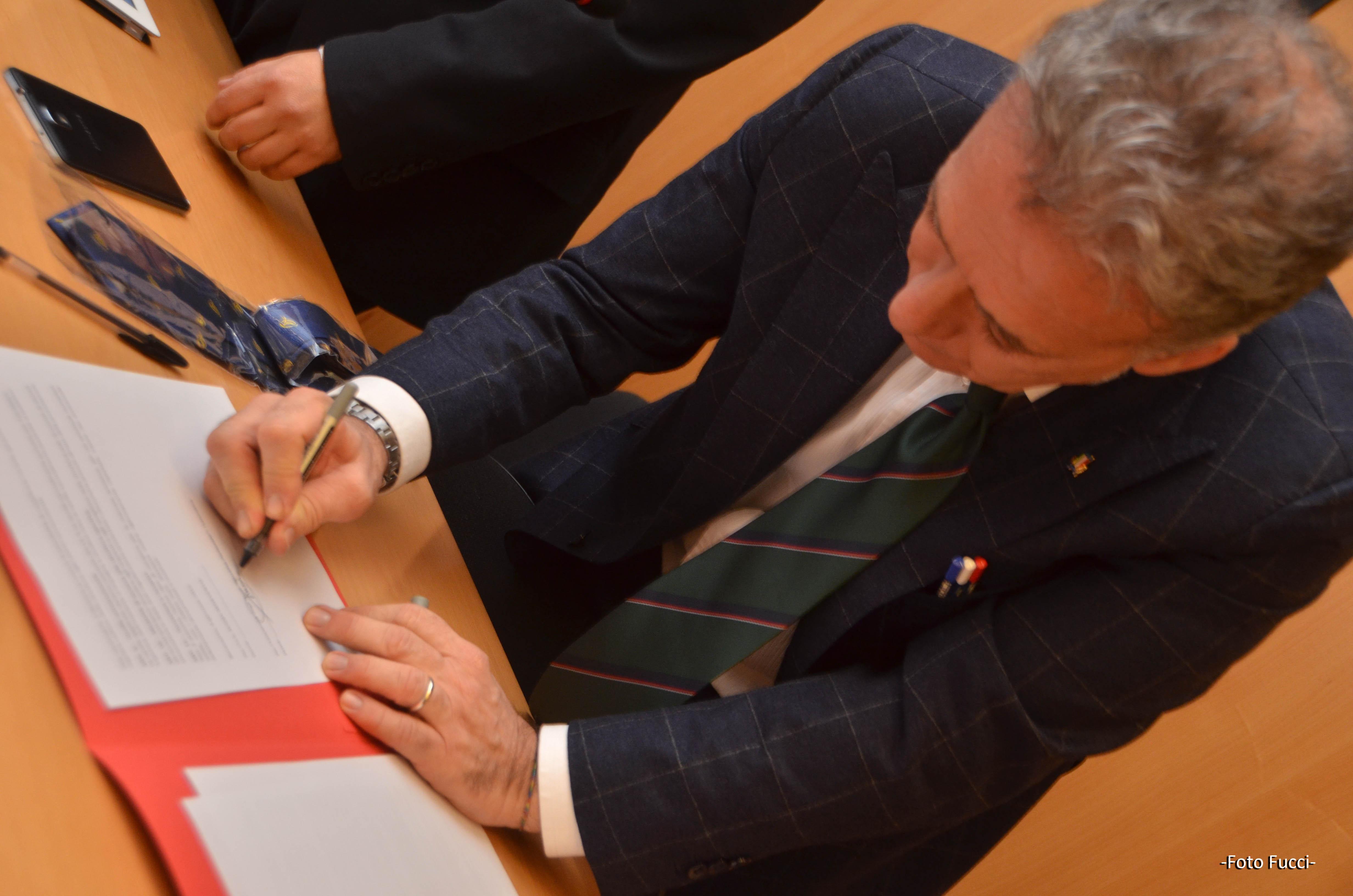 Firmata la convenzione fra l'Unifortunato e l'U.S. Rugby Benevento