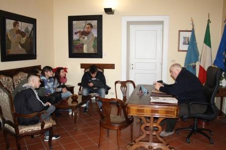 Dimensionamento scolastico, Ricci a colloquio con gli studenti dell'Artistico di Benevento