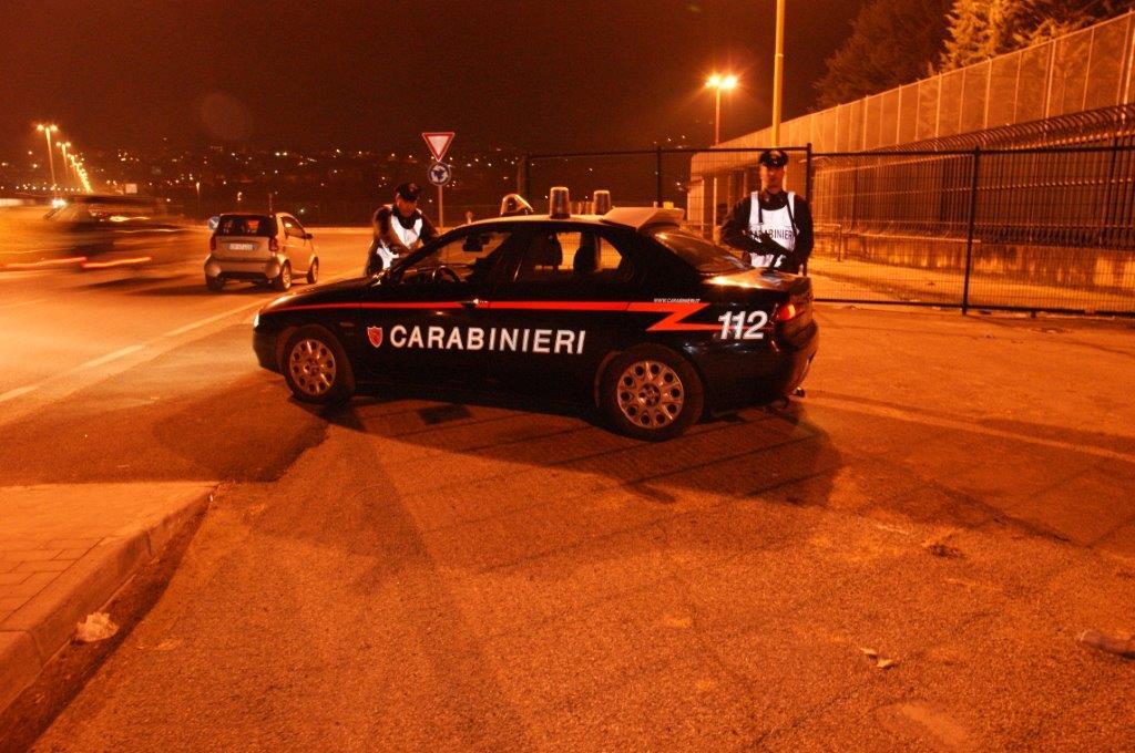 Controlli dei Carabinieri, denunciate tre persone e proposto il foglio di via per altre due