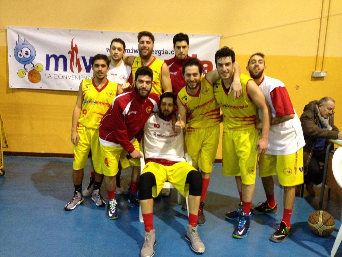 La Miwa Energia conquista la vittoria nell'ultima giornata del girone d'andata e si conferma al quinto posto in classifica