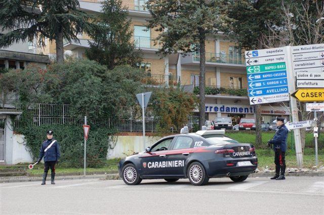 Benevento, arrestato 35enne a passeggio con in tasca quattro dosi di eroina