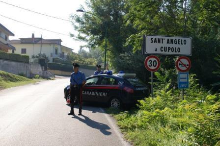 Sant'Angelo A Cupolo, i Carabinieri mettono fine con l'arresto alle azioni criminose dei fratelli 'Batman'