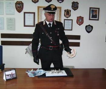 Telese Terme, arrestato barista pusher colto in flagrante