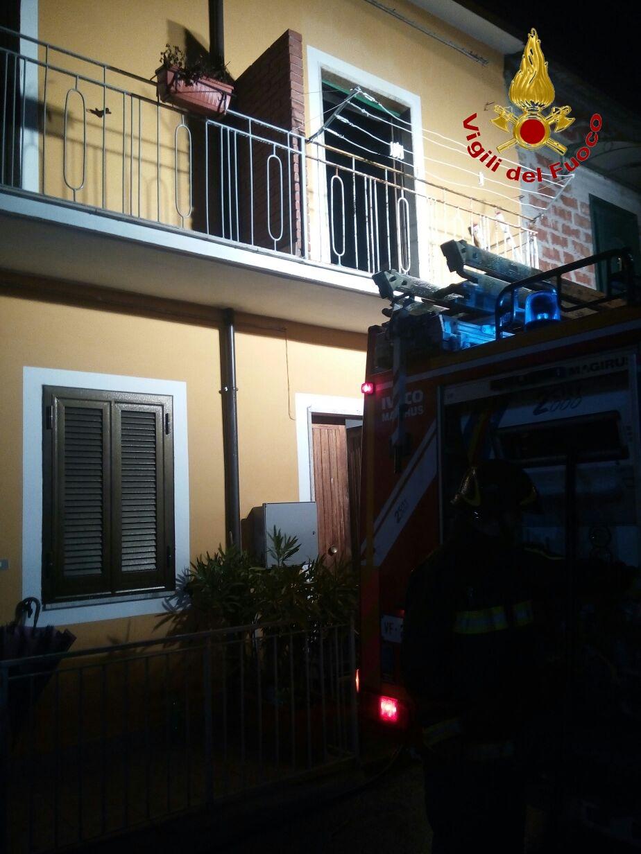 San Martino Sannita, una donna muore nell'incendio della sua casa