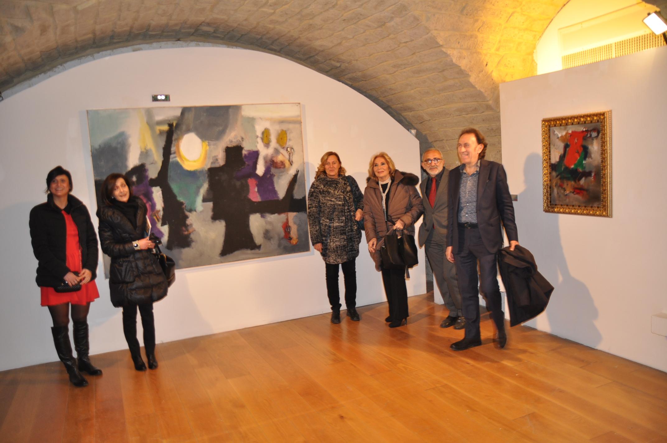 L'inaugurazione della restrospettiva dedicata a Tonino Lombardi ha dato il via alla stagione artistica di 'Arcos'