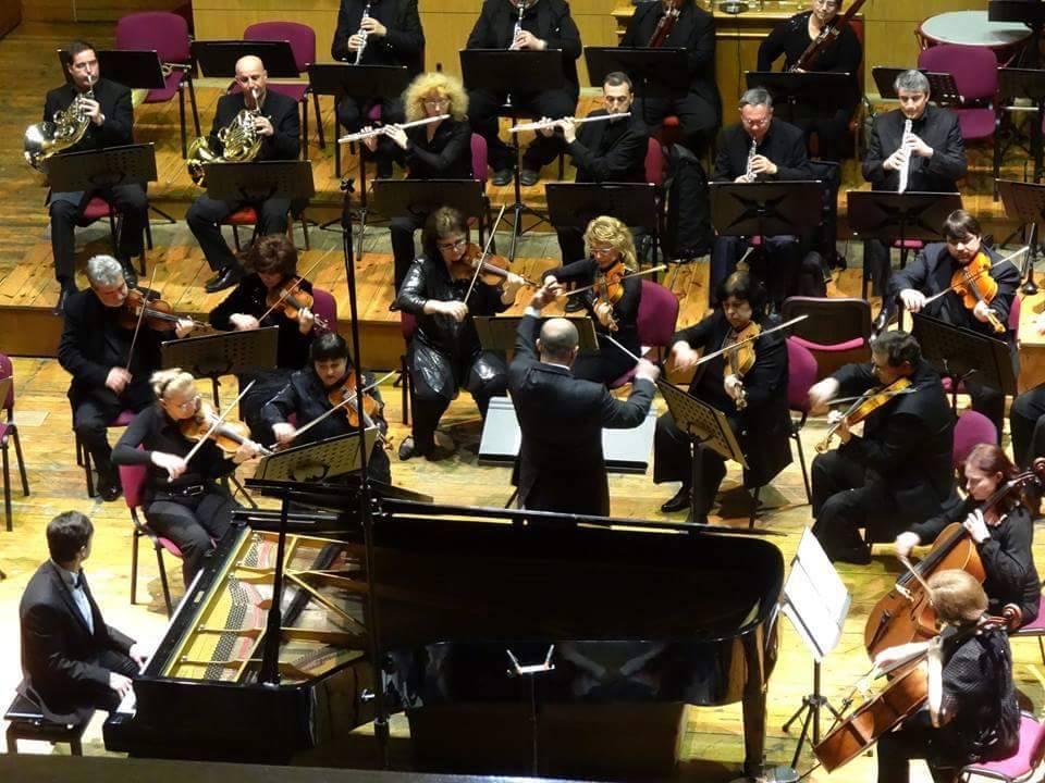I Maestri Armellino e Alvino in Bulgaria in concerto con la Symphony Orchestra