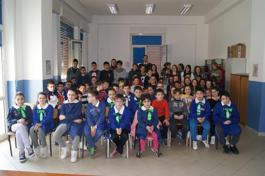 Cultura della legalità, i Carabinieri di Buonalbergo incontrano gli alunni del 'De Dominicis'