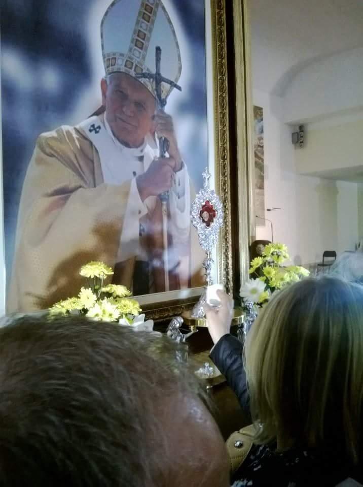 Le reliquie di Papa Giovanni Paolo arriveranno a Benevento il 29 'scortate' dall'Unitalsi