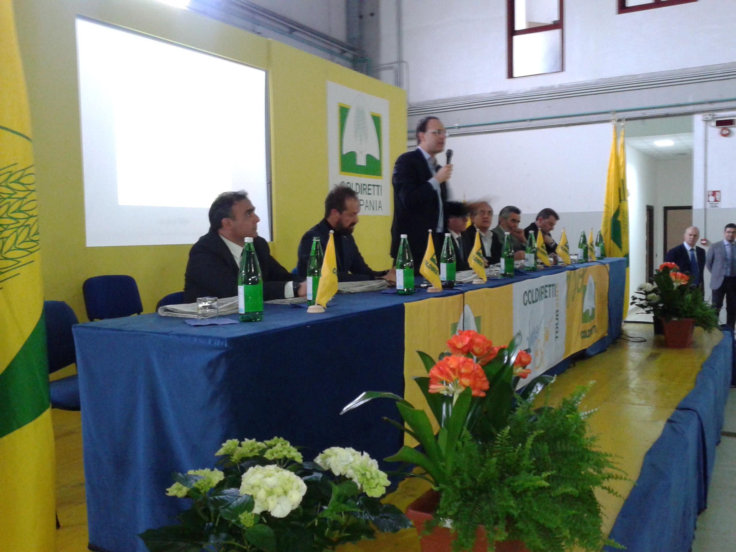 Moncalvo, Presidente nazionale di Coldiretti ha visitato la Cantina 'Vigne Sannite'