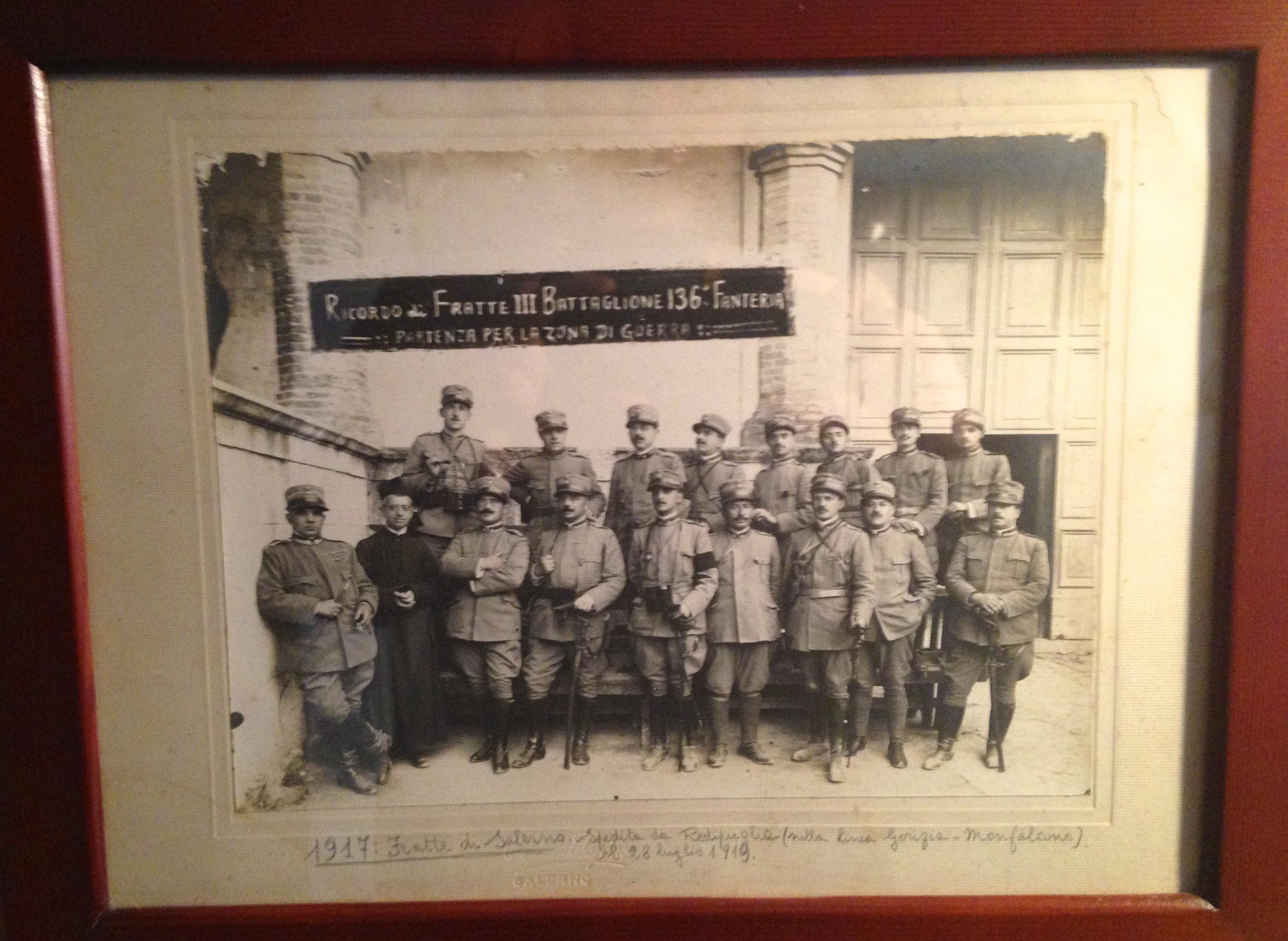Inaugurazione della mostra 'La grande tragedia', con immagini e reperti della Prima Guerra Mondiale