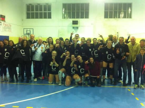 Volley Santa Maria di Costantinopoli promossa in Serie C