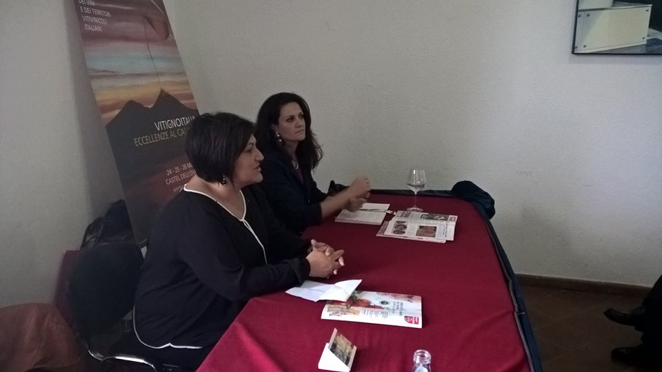 A Vitigno Italia due eccellenze dell'enologia sannita, Patrizia Iannella e Anna della Porta