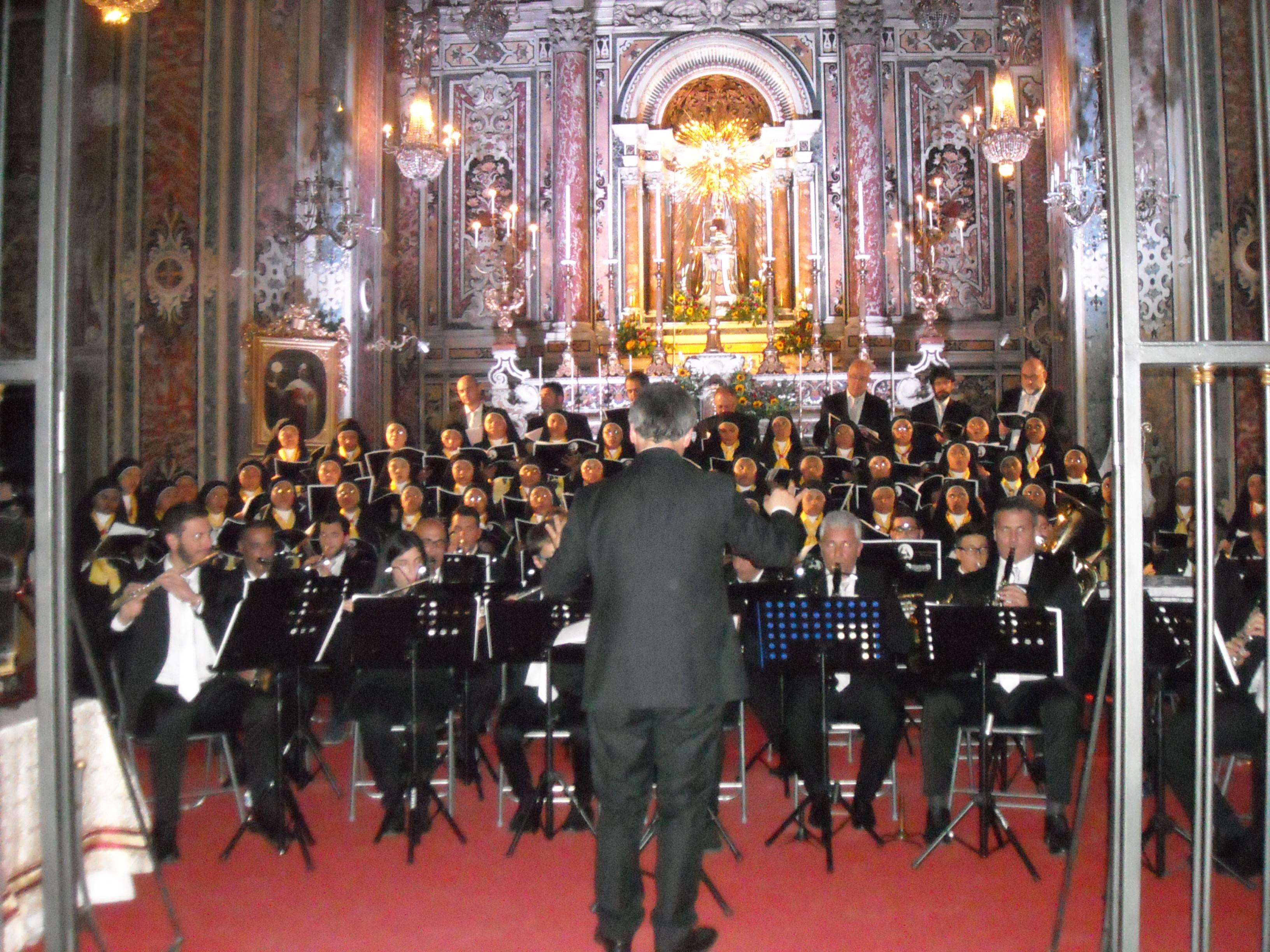 La Wind Orchestra Samnium commuove Napoli