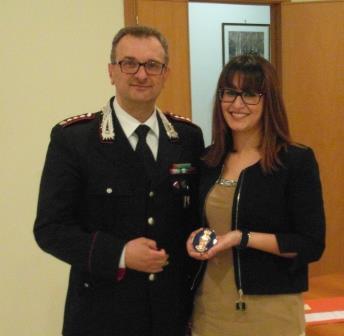 Conferenza del neo Sostituto Procuratore Donatella Palumbo ai carabinieri del comando Provinciale
