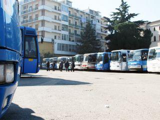 Chiuso il terminal degli autobus per lavori in vista della tappa beneventana del Giro d'Italia
