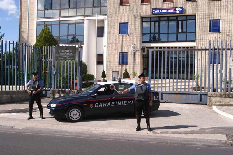 I Carabinieri di Montesarchio arrestano due persone per tentata estorsione