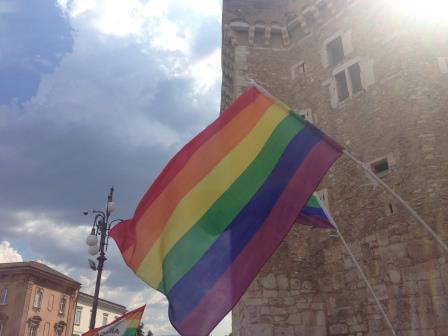 Benevento Pride, arcobaleno dentro le mura