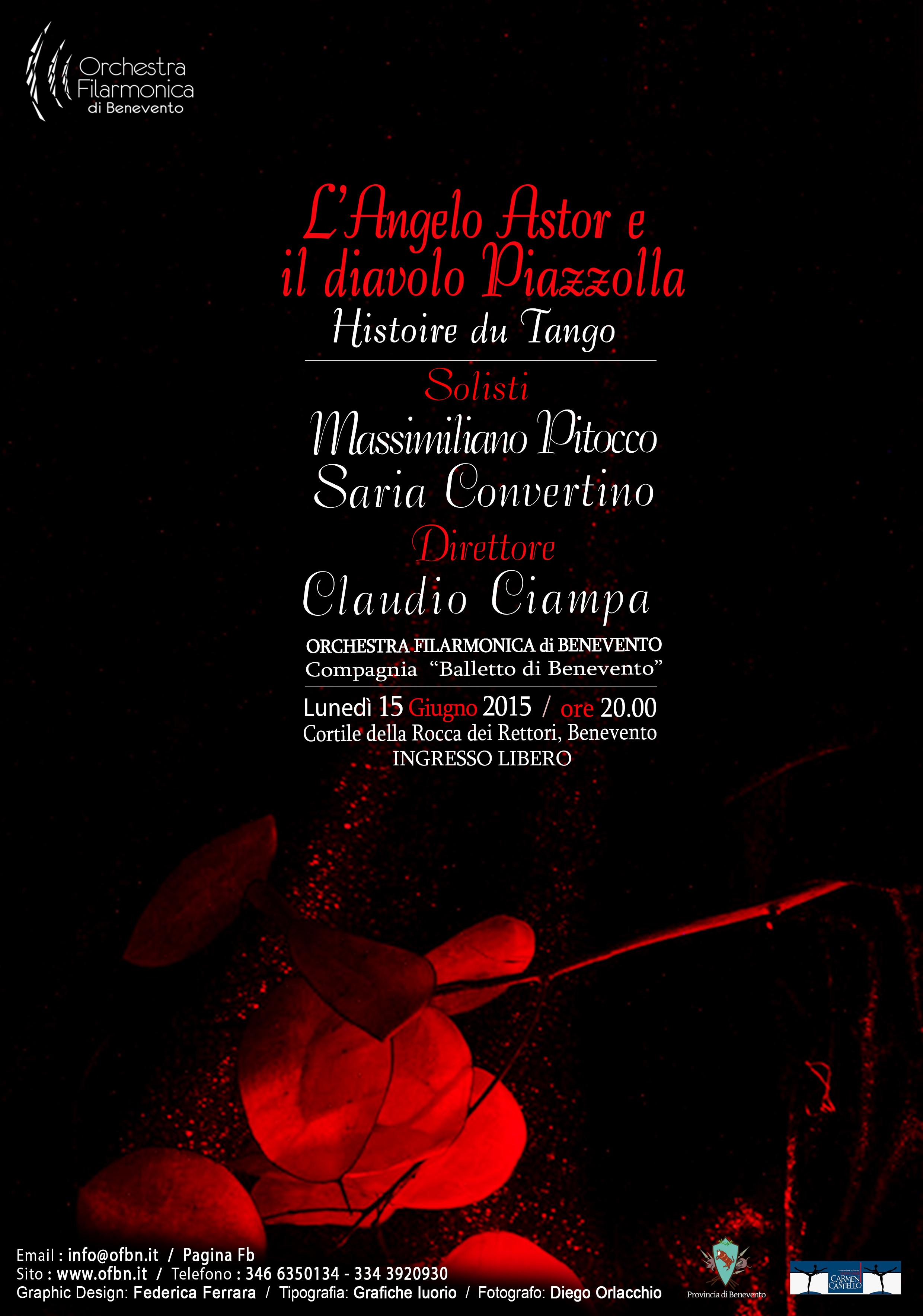 Concerto dell'Orchestra Filarmonica di Benevento alla Rocca dei Rettori