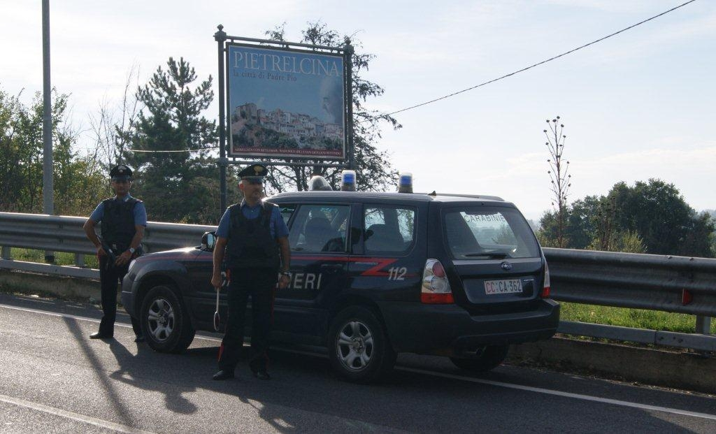 Tentato furto in un bar a Pietrelcina