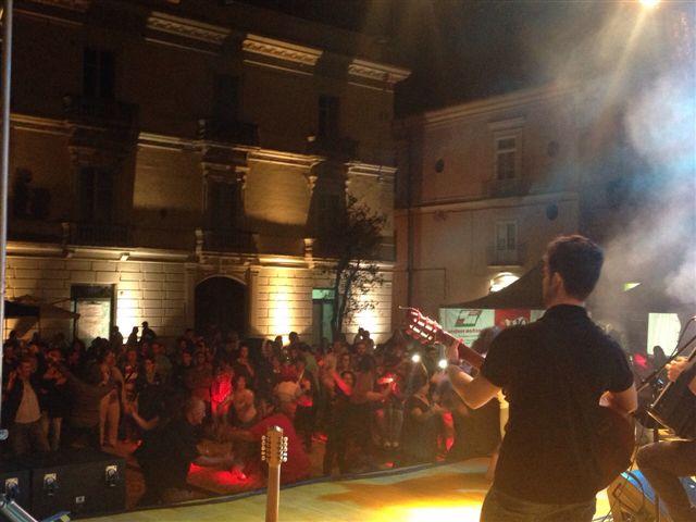 La gioia dei bimbi e il gradimento del pubblico ha sancito il successo dell'ultima serata del Sannio Fest