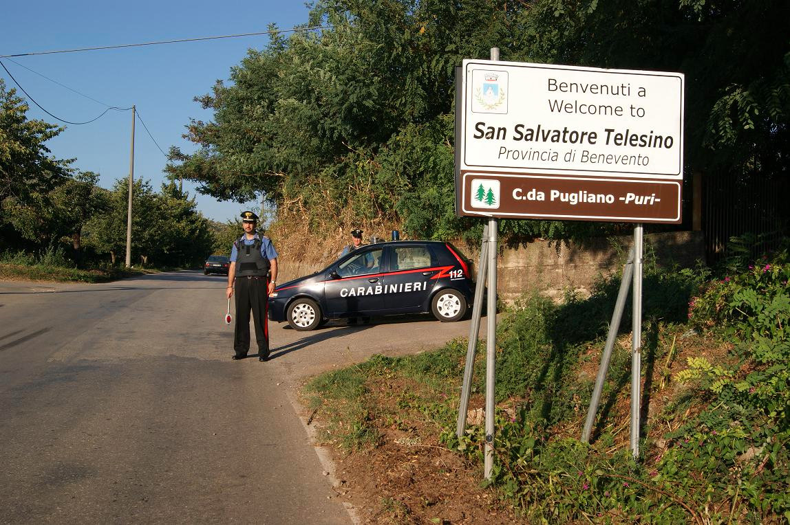 San Salvatore Telesino, furto in una ditta di carpenteria metallica