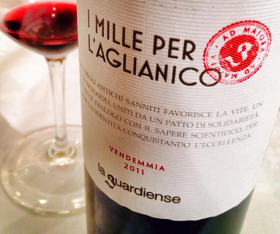 Presentato all'Expo 2015 'I Mille per l'Aglianico' vino de 'La Guardiense'