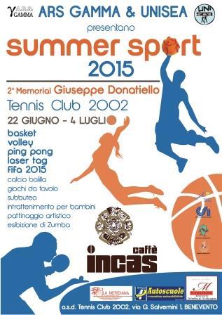 'Summer Sport 2015', tra le novità Laser tag e Game of Thrones