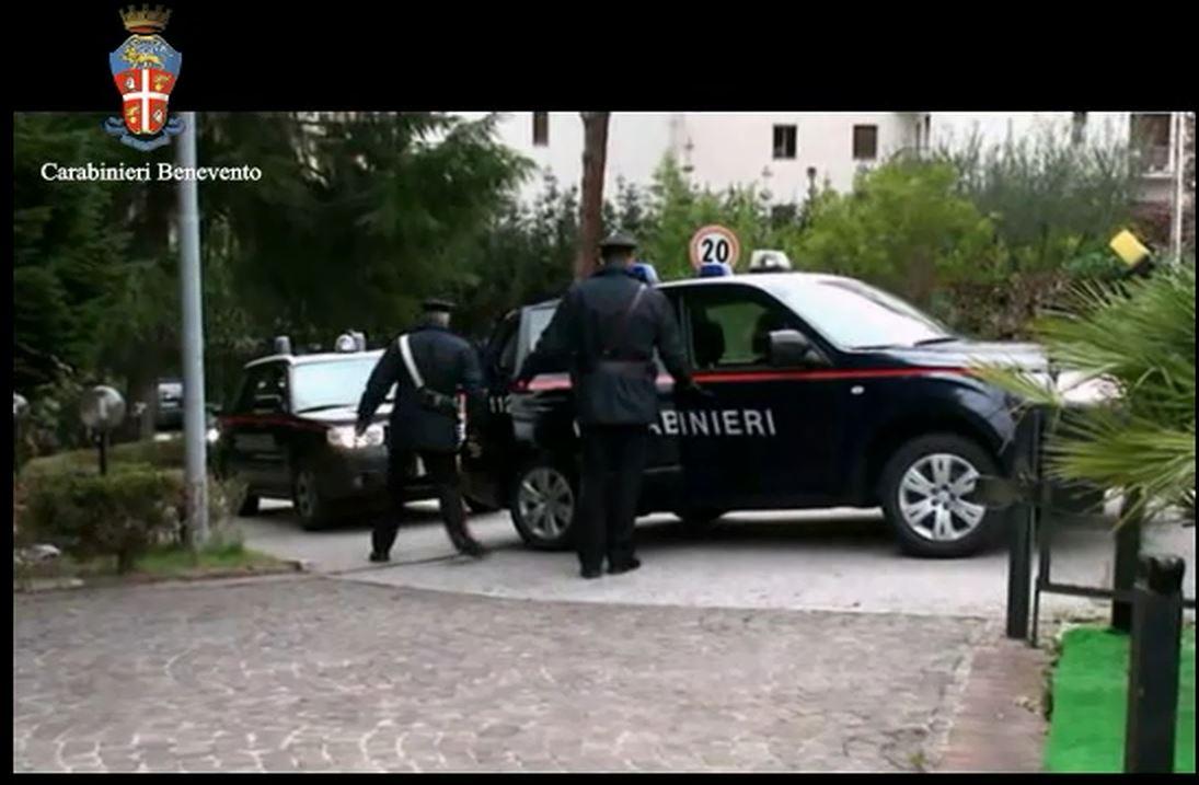Arrestato dai Carabinieri uno dei quattro autori dell'estorsione ai danni di un commerciante di Ceppaloni