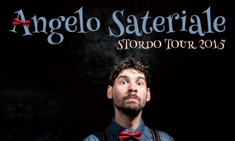A San Giorgio del Sannio Angelo Sateriale in 'Stordo Tour'