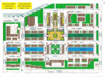Benevento, al Rione Libertà nuovo piano traffico per la realizzazione di aree verdi